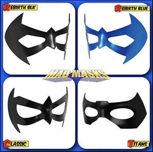 Robin Nightwing Superhero Leather Eye Masks - MOST Authentic - FREE Bonus!