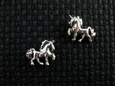 UNICORN .925 Sterling Silver Stud / Post Earrings - FREE SHIPPING & Gift Box!!!