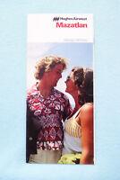 Hughes Airwest - Mazatlan - Brochure - 1977-78