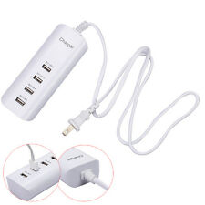 5A 4 Port USB Wall Charger Power Adaptor for Cell Phone Tablet Samsung US PLUG