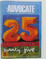David Hockney Poster Reprint Gay Right Magazine The Advocate 25th Anniversary