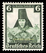 EBS Germany 1935 Nothilfe - Regional Costumes - 6+4 Pfennig - Michel 591 MNG