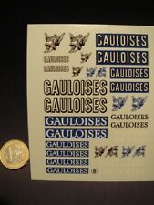 "DECALS 1/24 TABAC "" GAULOISES "" - VIRAGES  T8"