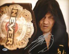 Minoru Suzuki Signed 11x14 Photo BAS COA New Japan Pro Wrestling NEVER Belt Auto