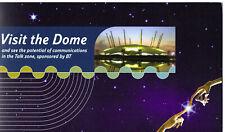 More details for british telecom bt millennium dome ticket voucher & presentation wallet