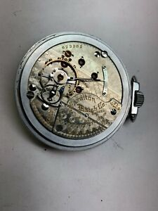 RARE fully labeled HAMILTON 21 jewel MODEL 941 pocket watch MINT DIAL 18 size