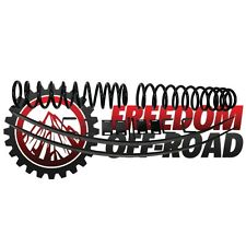 """Freedom Offroad 3"""" Lift Leveling Kit 1984-01 Cherokee Lift Springs Leaf Springs"""