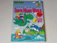 SUPER Nintendo-Super Mario World * LIBRO * Mercato & technick