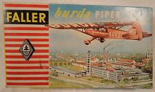 Faller Burda Piper Faller PC 505 Deutsches Modell Abdeckung Box nur Vintage Fünfziger