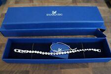 Swarovski Rhodium Plated Tennis Bracelet, 1791305 NIB 100% Authentic