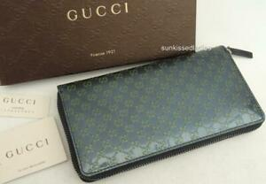 GUCCI GG Leather Wallet Bag Purse- Boxed; Perfect Gift! Auth New