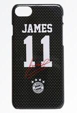 Back Cover FC Bayern München - James 11 Autogramm [ iPhone 7 8 ] Handyhülle FCB