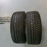 2x Michelin Pilot Alpin PA4 AO 245/45 R18 100V DOT 3517 8 mm Winterreifen
