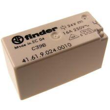 Finder 41.61.9.024 Relais 24V DC 1xUM 16A 250V AC Relay Print 069573
