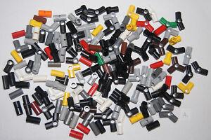 Lego - 162 TECHNIC BRICKS / BLOCKS MIX - pin + axle CONNECTORS (A1) GENUINE