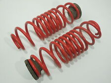 Audi A2 8Z Pair Rear Springs Red Aftermarket