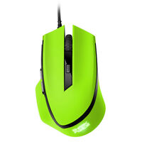 SHARKOON SHARK FORCE * GRÜN * Gaming Mouse Professionelle 6-Tasten-Gaming-Maus