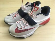 Nike KD 7 USA Olympic Shoes Men's Size 10.5 UK 9.5 UK Red White Blue 653996-146