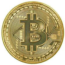 Bitcoin Coin Münze Mining Miner Medaille Sammelmünze