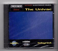 (JM974) Cybertracks Ltd NVRCD 807: The Univac, Labyrint - Sealed CD