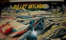 "Vintage Mego BULLET SKYLINER ""B"" SET Battery Op Monorail Tube #155 in orig box"
