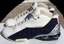 Nike Shox BB4 HOH House of Hoops Vince Carter 376918 100 BASKETBALL TEAM USA 8.0