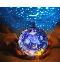 Starry Sky Night Light Projector Lamp Led Kids Children Galaxy Bedroom(FREESHIP)