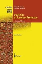 Statistics of Random Processes : I. General Theory 5 by Robert S. Liptser and...
