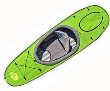 Advanced Elements AE2021 Single Deck for Convertible Kayak w/Storage Hatch -GRN