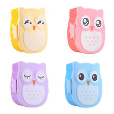 Cute Cartoon Owl Silicon Lunch Box Bento Lunch Box Set School Lunch Box For Kids