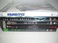 Lot of 5 DVDs, Blade, Blade II, Arrow Season 1, Fanboys, The Dark Knight