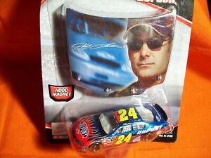 Jeff Gordon #24 FLAMES PHOTO HOOD NASCAR CAR & HOOD Winners Circle WC