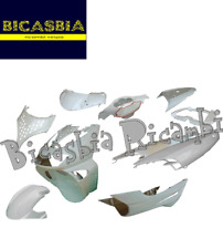 10280 SET CASCOS SCUDO BAULETTO GUARDABARROS BLANCA APRILIA SR 50 WWW 97-12