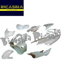 10280 KIT CARENE SCUDO BAULETTO PARAFANGO BIANCHE APRILIA SR 50 WWW 1997 - 2012