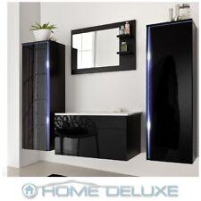 Badmöbel Badezimmermöbel Badezimmer Waschbecken Waschtisch Schrank Spiegel Set