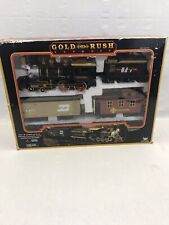 Gold Rush Express G-Scale Train Set No. 186 New Bright Train and Tracks