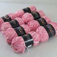 AIP Soft Baby Cotton Yarn New Hand dyed Wool Socks Scarf Knitting 8Skeinsx50g 01