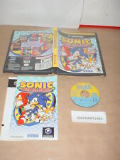 SONIC MEGA COLLECTION game & Manual players choice for GAMECUBE or Nintendo Wii