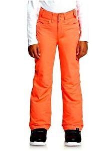ROXY Girls' BACKYARD Snow Pants - MJL0 - Size 10 (M) - NWT