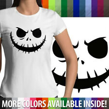 Nightmare Before Christmas Halloween Jack Skellington Juniors Womens T-Shirt Tee
