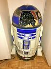 """RARE VINTAGE 90s Star Wars Life size R2D2 Pepsi Cooler. A few issues. 50"""" approx"""