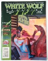 White Wolf Magazine 35 RPG Roleplaying Game shadowrun ars magica torg alamaze