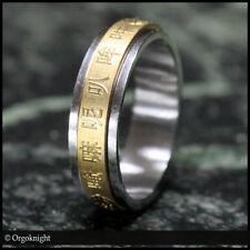 AVALOKITESHVARA Mantra Spin Ring Mani Chinese Tibetan Buddhist Chenrezig Guanyin