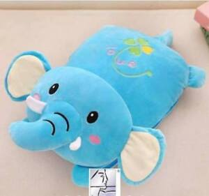 Character Pillows Blanket 2in1 (Elephant)