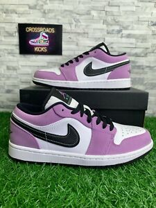 Nike Air Jordan 1 Low SE Shoes Sneakers - Violet Shock (CK3022-503) Men's Size 8