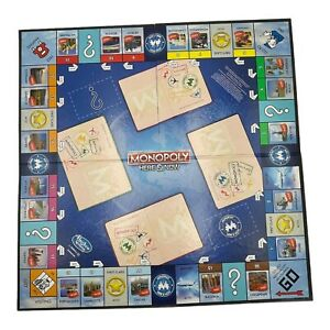 Monopoly Here & Now 2015 Replacement Game Board ONLY. Parts Pieces. Fast Ship!