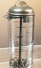 Pampered Chef Measure Mix & Pour Dressing Mixer #2265 EUC