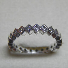 Authentic PANDORA Ring Alluring Princess #190944cz 50 off Clearance P 8.5