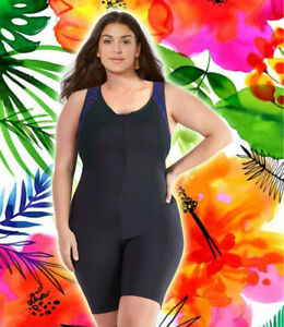 Athletic boyleg Woman swimwear one piece plus size XL-6XL Active Unitard