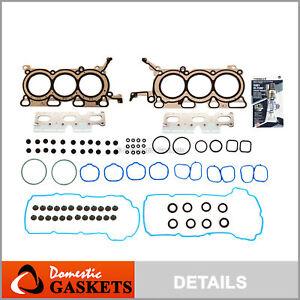 Head Gasket Set Fits 07-12 Ford Lincoln CX-9 Edge 3.5L V6 DOHC 24v